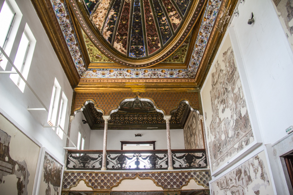 The Althiburos Room in the Bardo Palace in Tunis, Tunisia