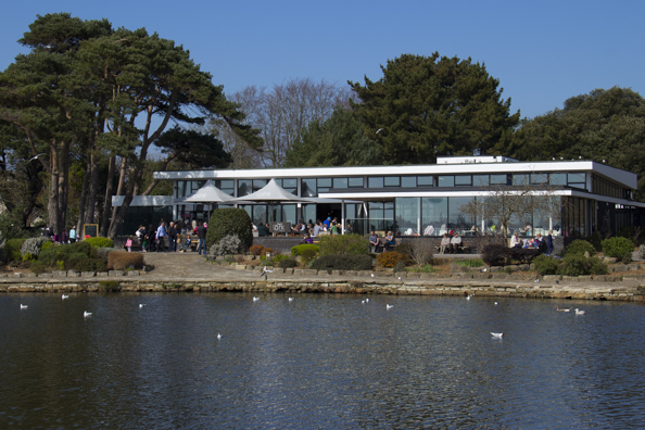 The Ark on the wildfowl lake in Poole Park, Poole