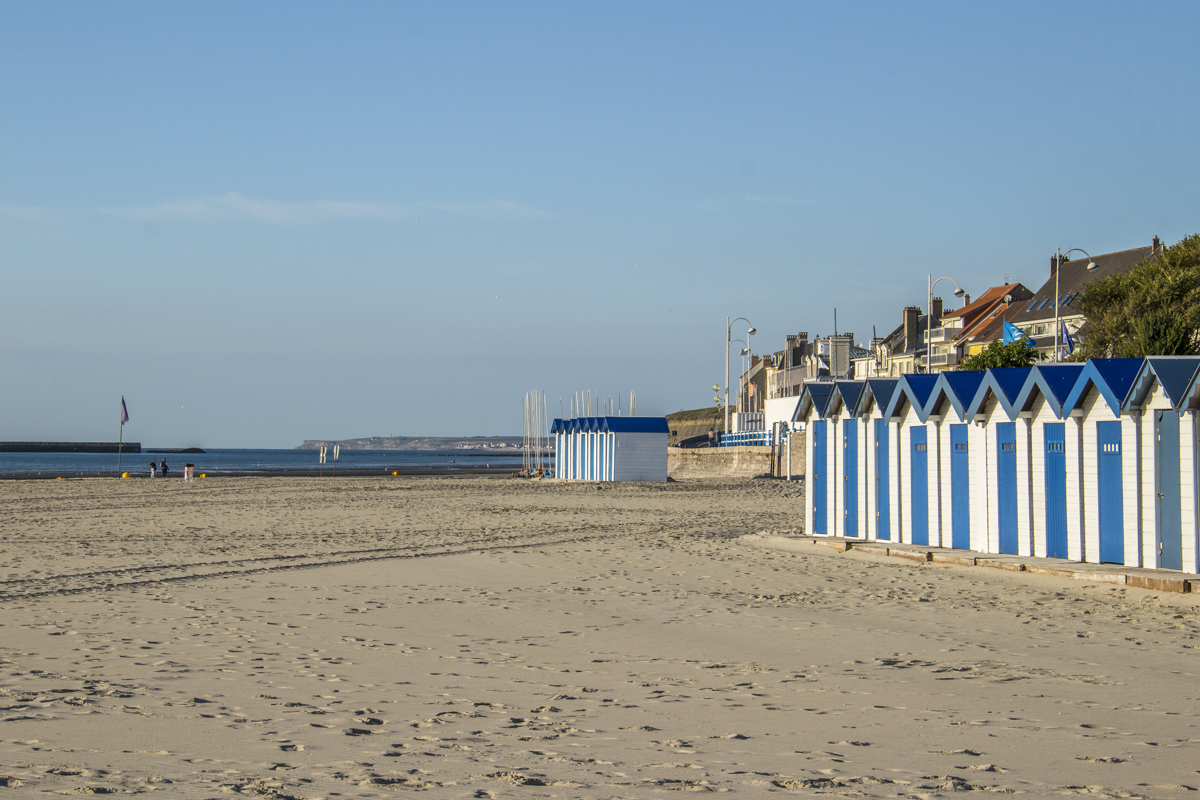 The beach at Boulogne sur Mer, France 0063