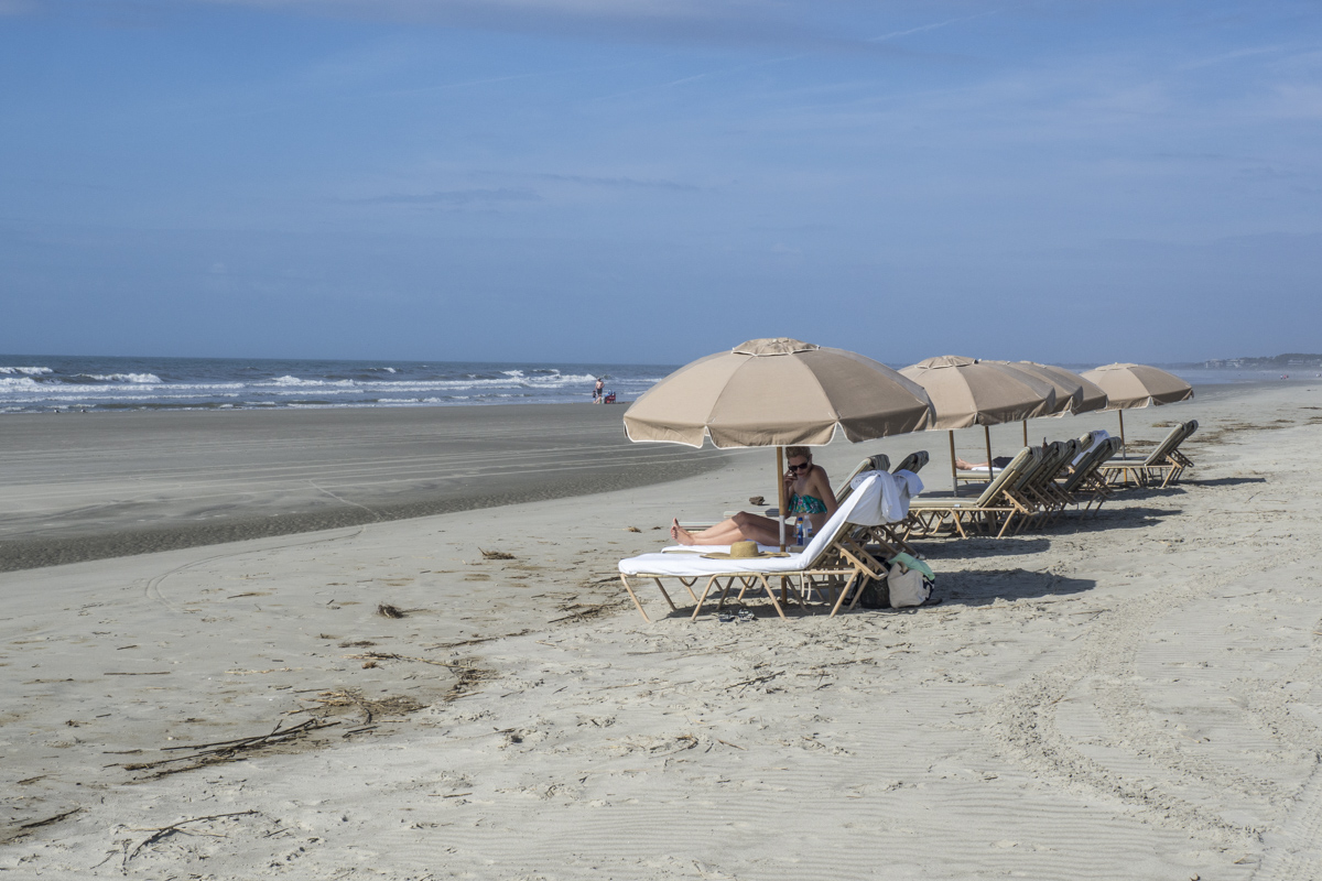 The Beach at The Sanctuary in the Kiawah Island Golf Resort    4121495