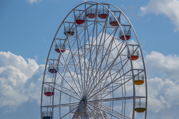 he Big Wheel at Dreamland in Margate, Thanet in Kent