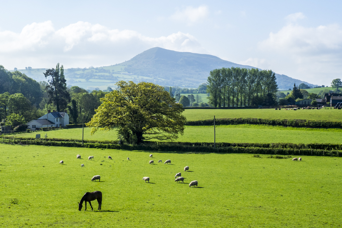 The Brecon Beacons Around Abergavenny in Wales 5111127