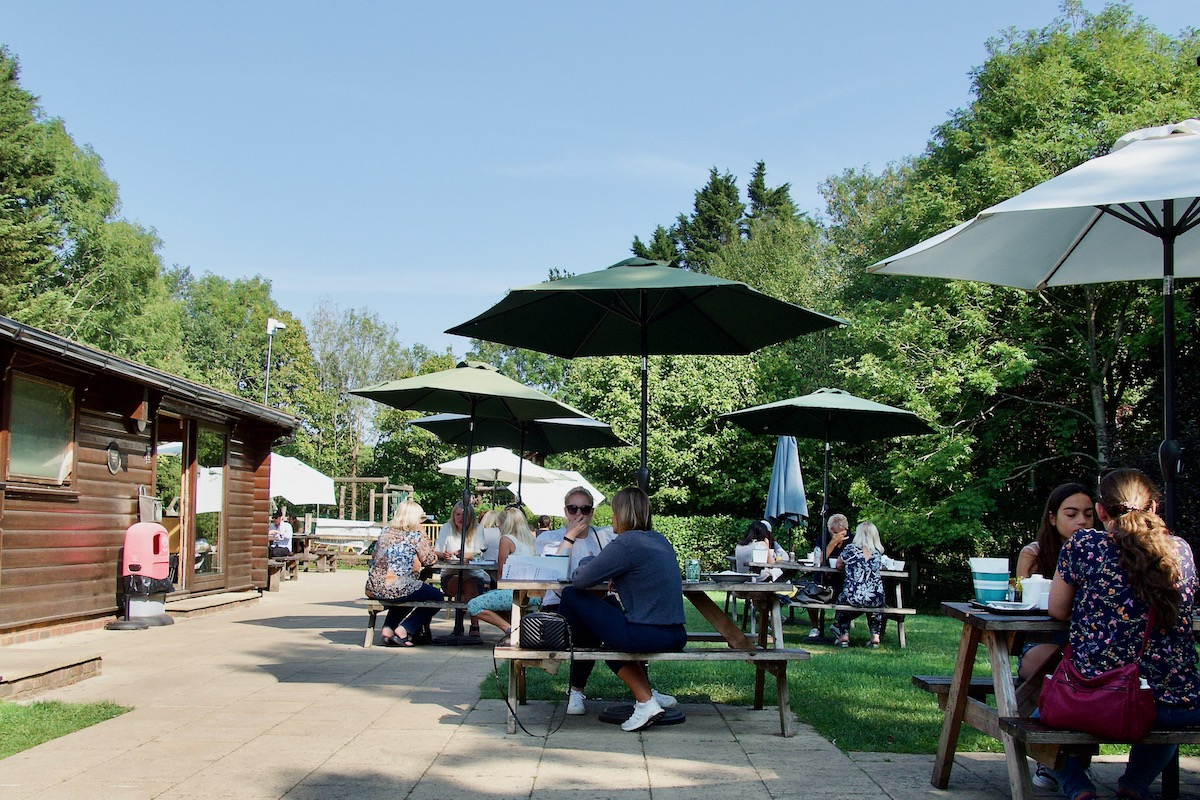 The Café in the Orchard in Shenley, Herts