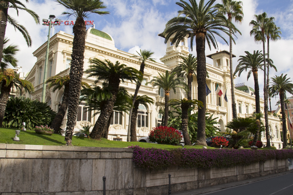 The Casino in Sanremo, Liguria in Italy