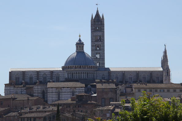 The cathedral in Siena in Tuscany, Italy