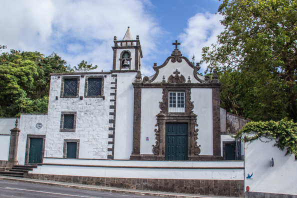 The Chapel of St Ana in Jardim José do Canto in Ponta Delgada on the Island of São Miguel in the Azores