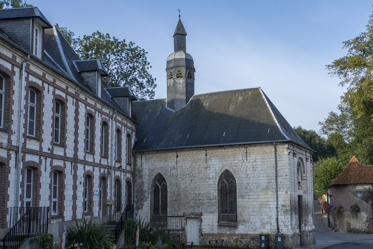 The Chapel of the Orphanage in Montreuil sur Mer in Pas de Calais, France     8060487
