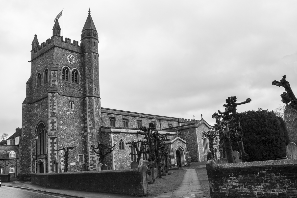 The Church of Saint Mary in Amersham  0041