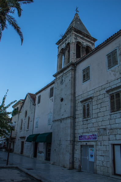 The Church of Saint Philip of Neri in Makarska, Croatia