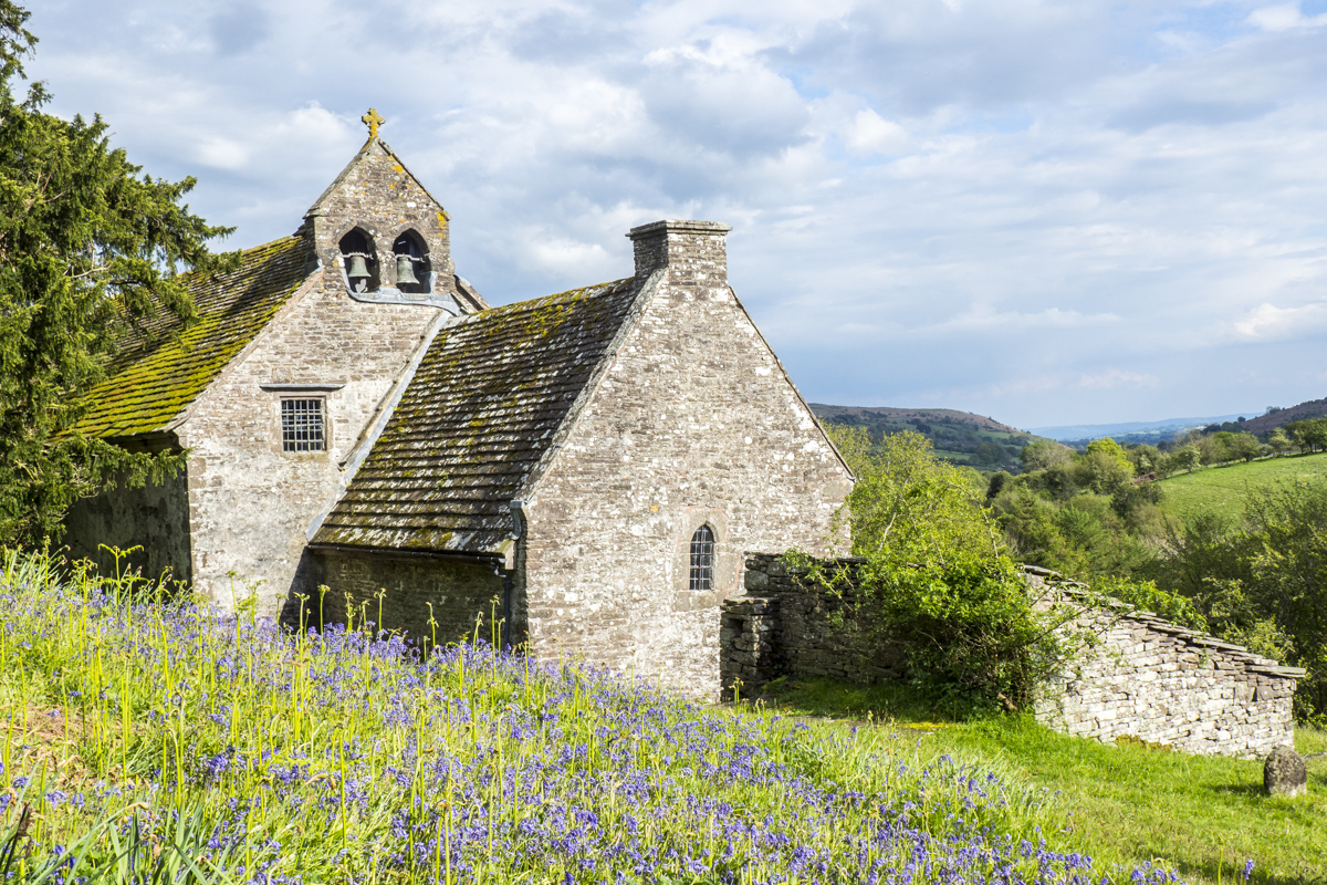 The Church of St. Issui at Partrishow near Abergavenny in Wales 5111184