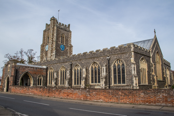 The Church of St Peter and St Paul, Parish Church of Aldeburgh, Suffolk