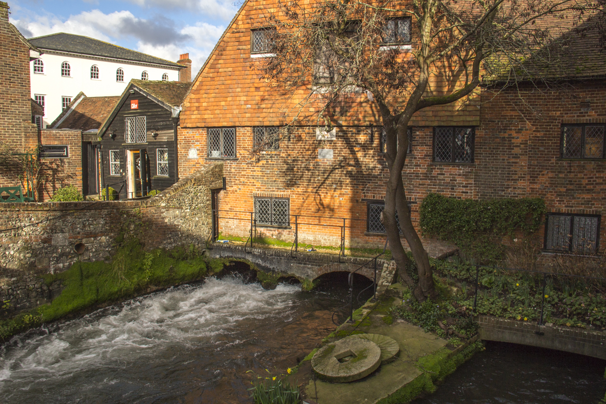The City Mill in Winchester, Hampshire, England  4221