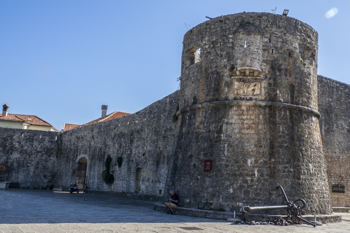 The City Walls and Bastion of Budva in Montenegro