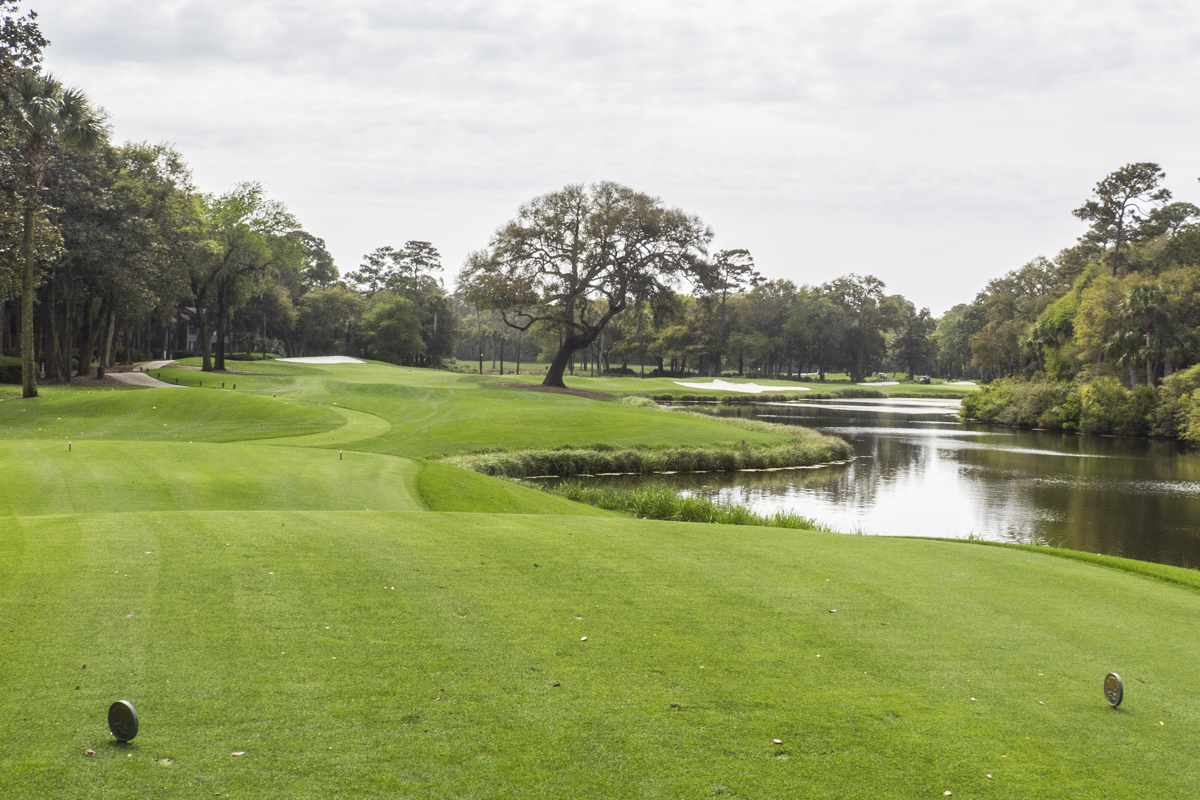 The Cougar Point Golf Course in the Kiawah Island Golf Resort    4121535
