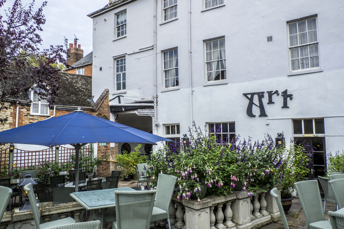 The Courtyard Terrace at The Feathers in Woodstock 9301464