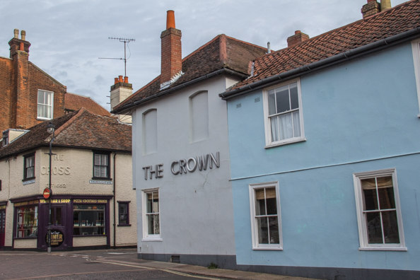 The Crown in Woodbridge, Suffolk