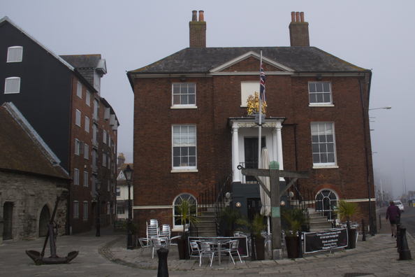 The Custom House on Poole Quay in Poole