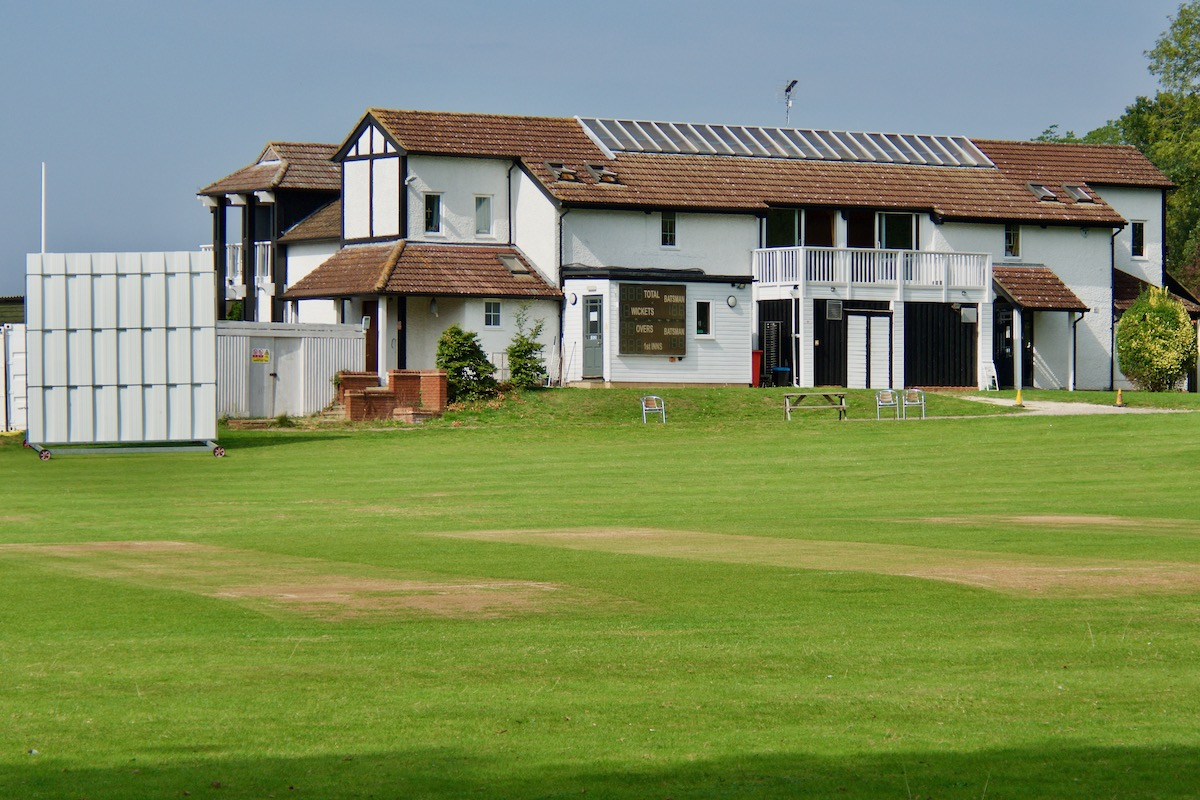 The Denis Compton Cricket Ground in Shenley, Herts
