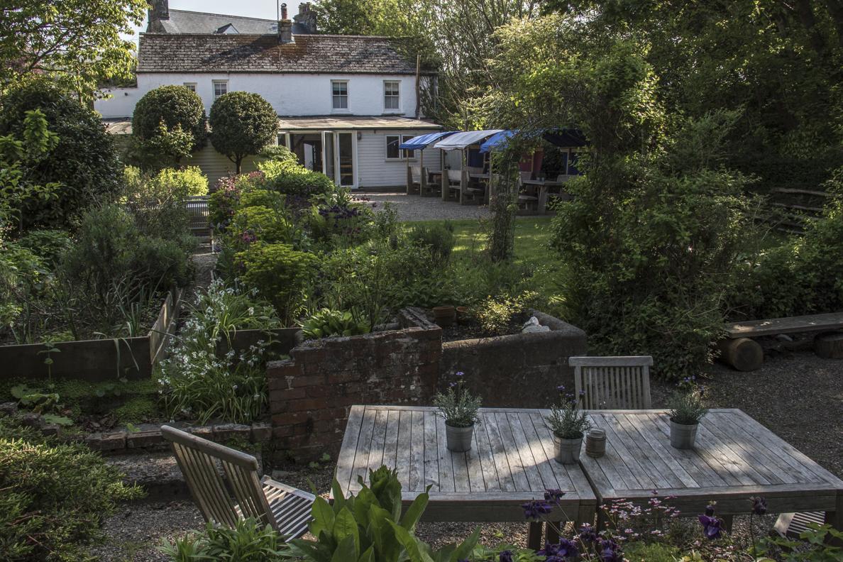 26563c58106d The garden of Llys Meddyg in Newport