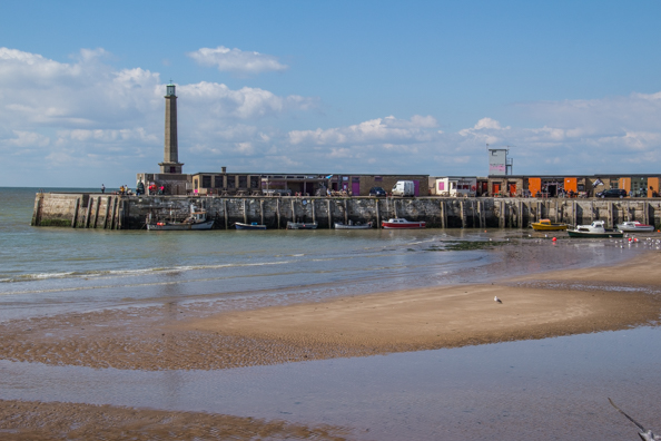 The Harbour Arm in Margate, Thanet in Kent