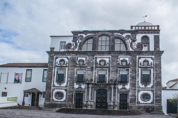 The Jesuit College in Ponta Delgada on the Island of São Miguel in the Azores