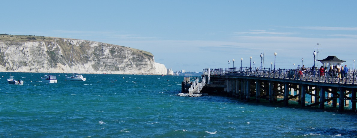 The Charming Café on the Pier in Swanage