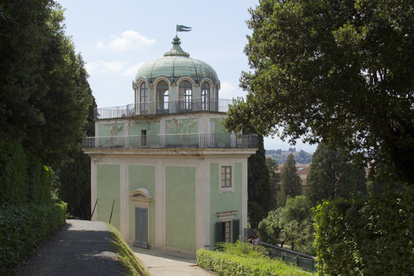 The kaffeehaus in the  Boboli Gardens behind the Palazzo Pitti in Florence, Tuscany