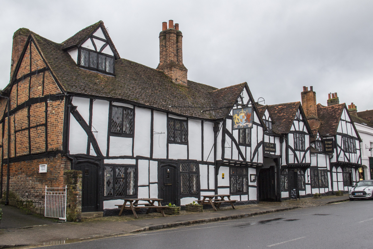 The Kings Arms in Old Amersham  0072