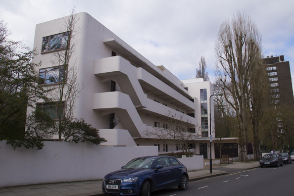 The Lawn Road Flats or Isokon Building in Hampstead London
