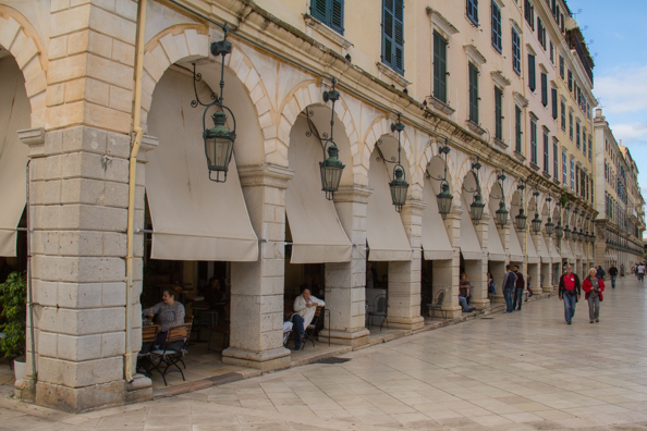 The Liston in Corfu Town