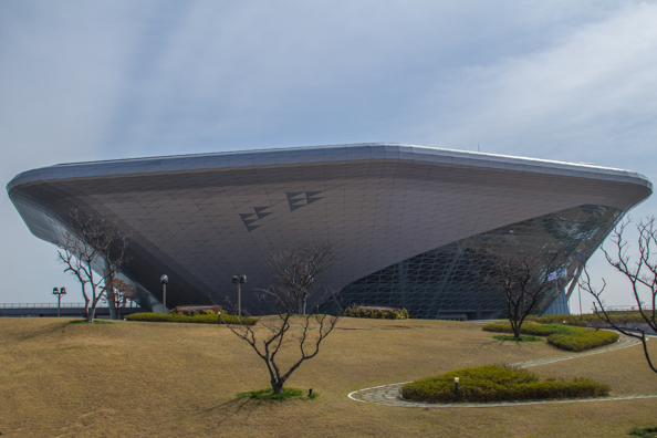 The National Maritime Museum of Busan in South Korea