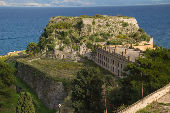 The Old Fortress in Corfu old town
