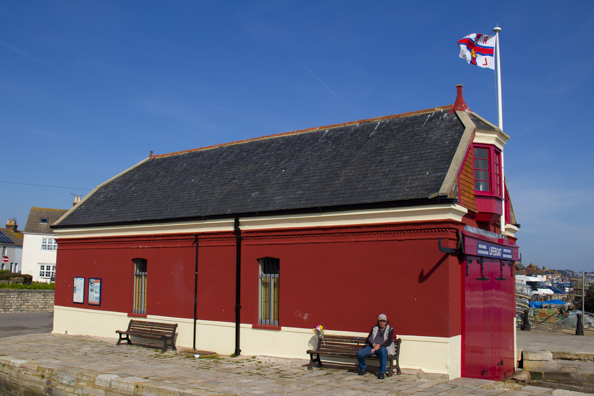 The old lifeboat station on Poole  Harbou
