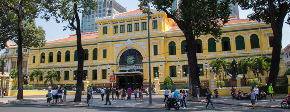 Some Highlights of Ho Chi Minh City (Saigon) in Vietnam