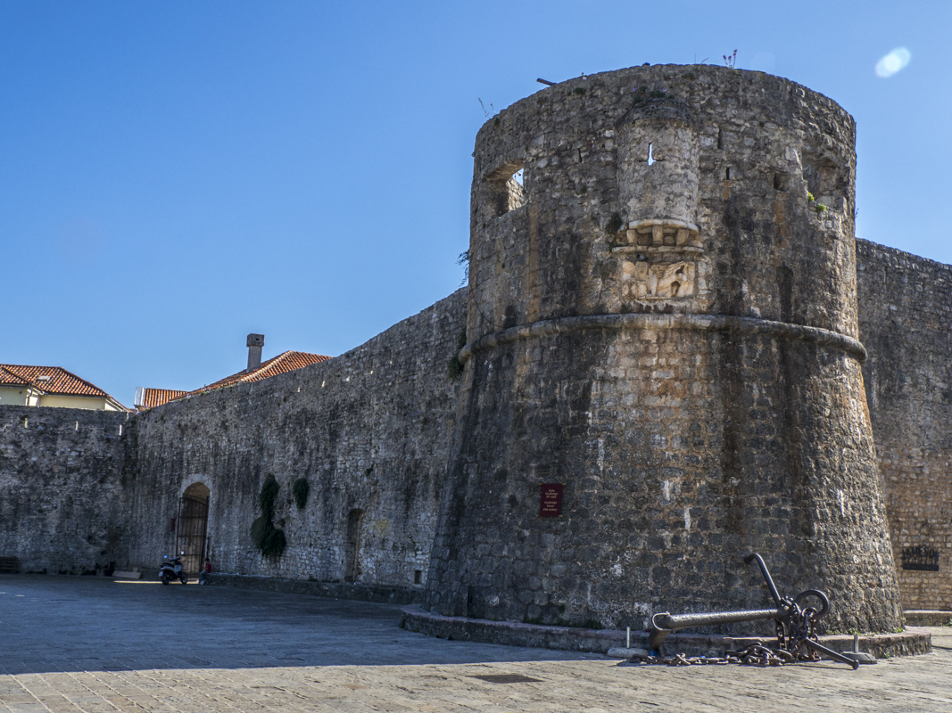 The Old Town Walls of Budva in Montenegro 150270
