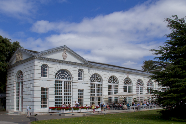The Orangery at Kew Gardens in London