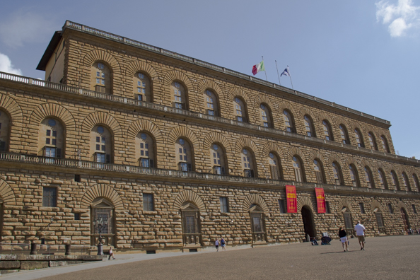 The Palazzo Pitti in Florence, Tuscany