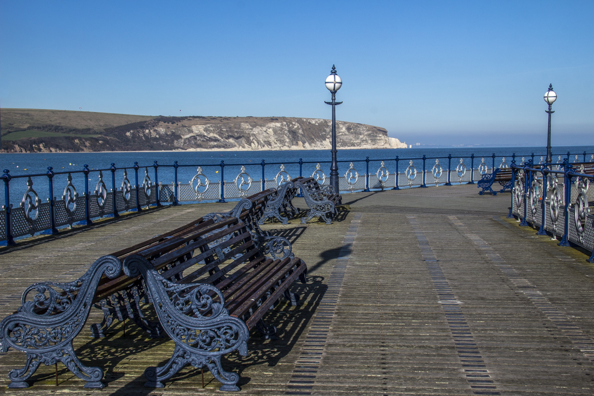 The Pier at Swanage in Dorset, UK 2089