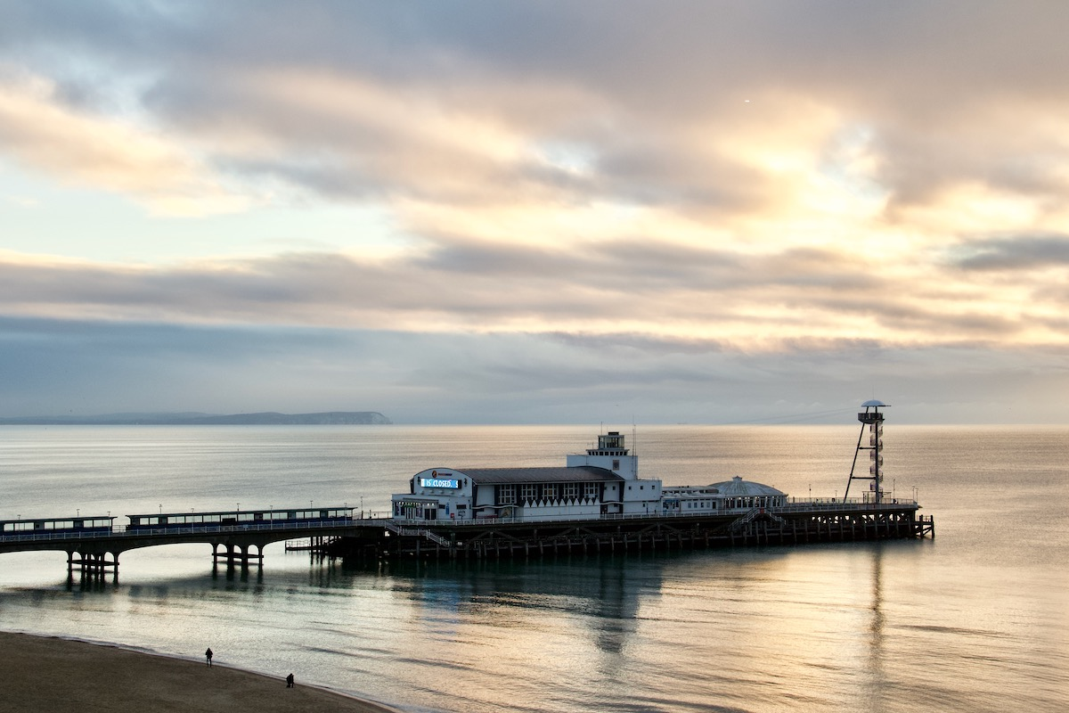 The Pier in Bournemouth, Dorset