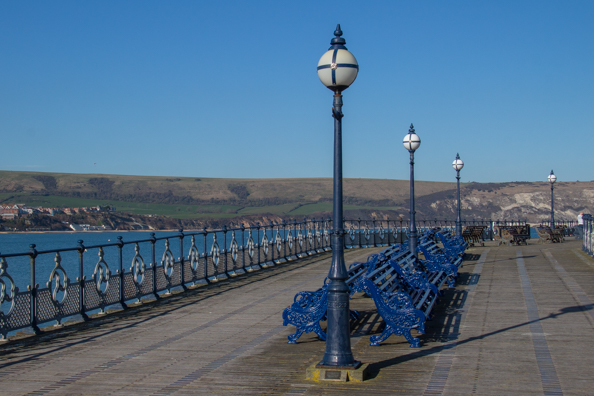 The Pier in Swanage in Dorset, UK