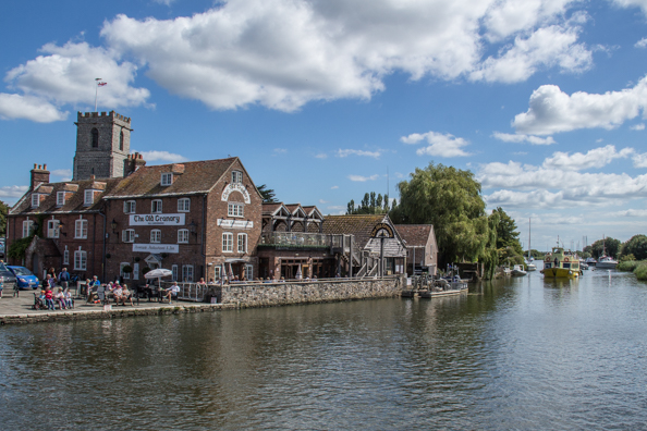 The Quay on the River Frome in Wareham, Dorset, UK