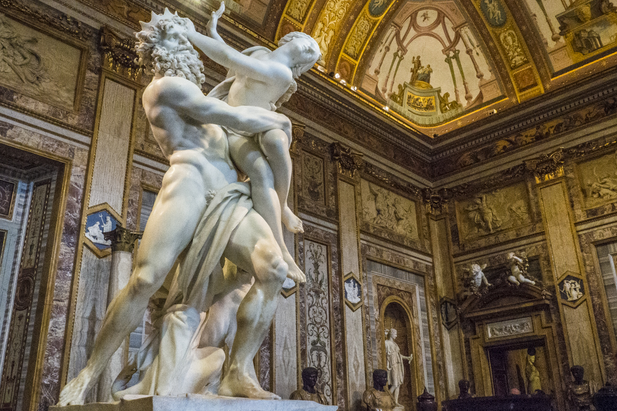 The Rape of Proserpina in the Galleria Borghese in Rome  3170710