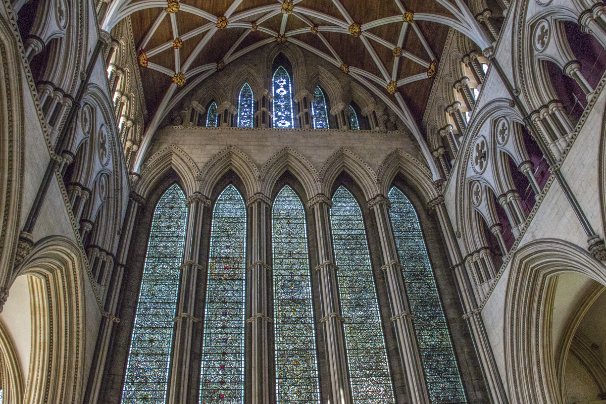 The rgreat east window in York Minster, York 20180790