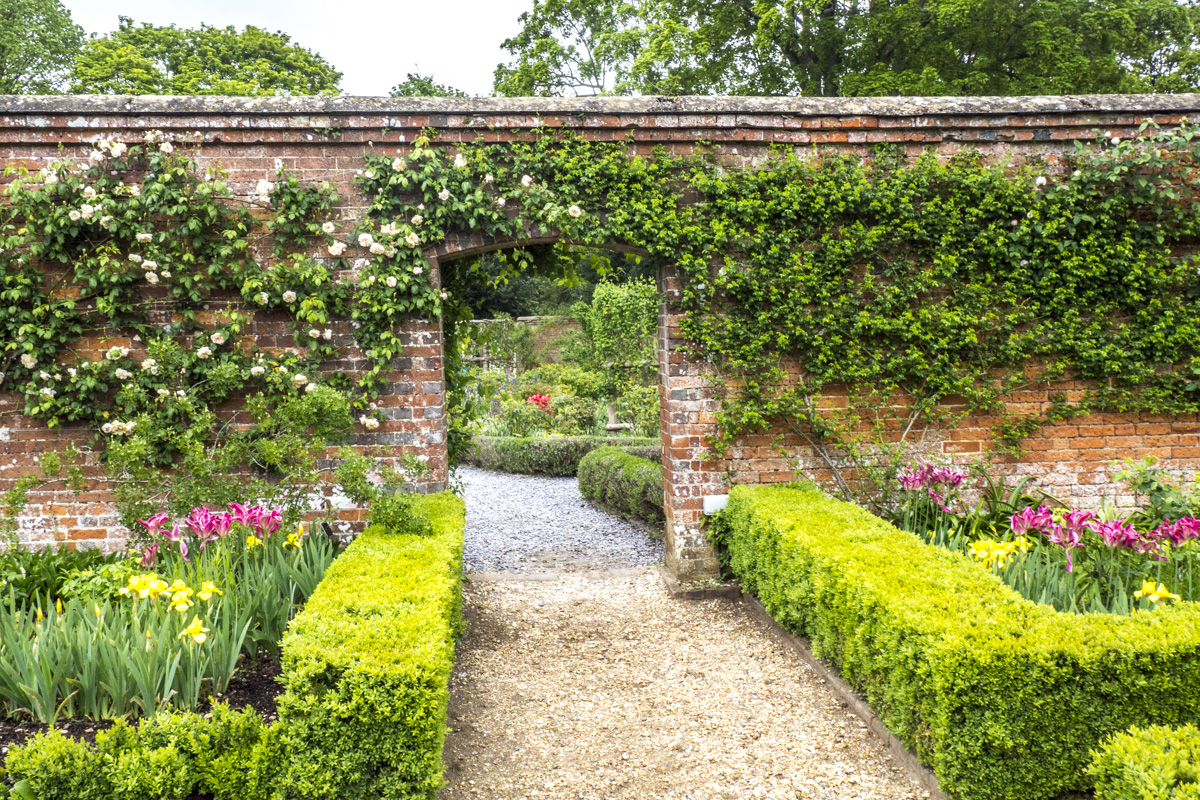 The Rose Garden at Mottisfont in the Test Valley in Hampshire   5033130