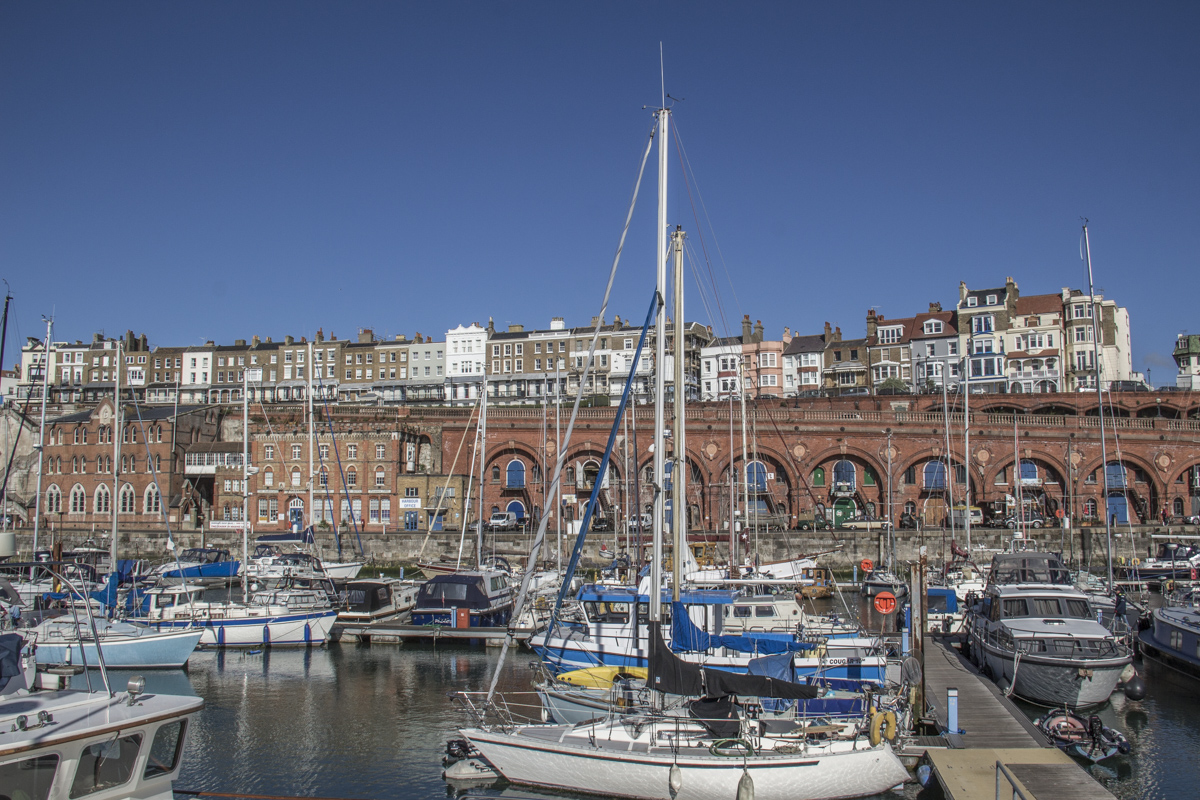 The Royal Harbour at Ramsgate in Thanet, Kent, UK 4294