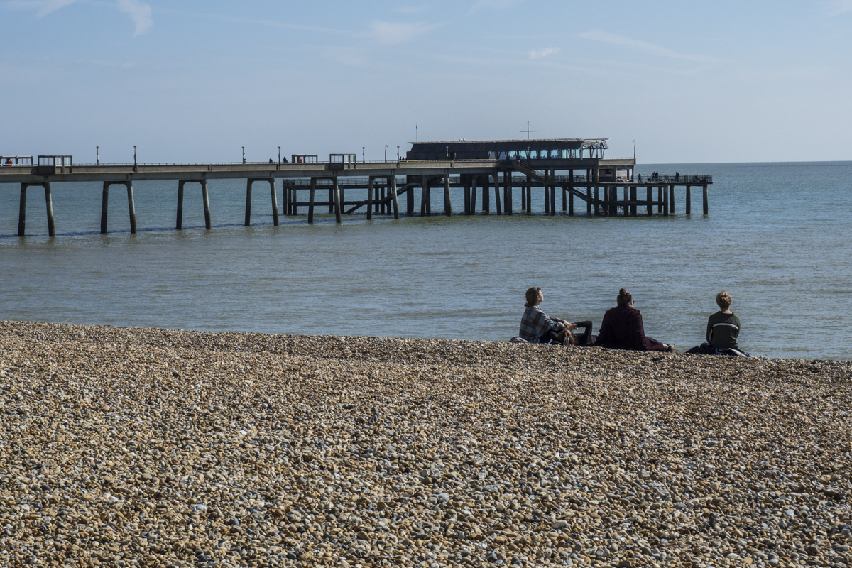 The Sea Front at Deal in Kent