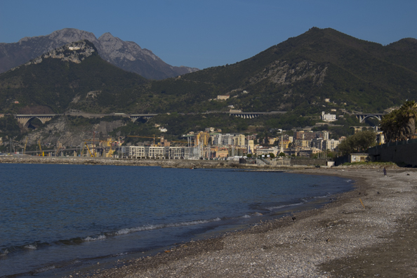 The sea front in Salerno Italy-0142