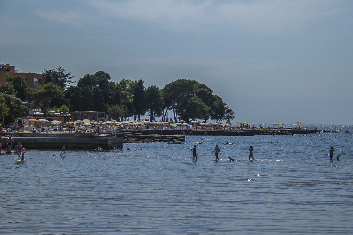 The seafront at Umag on the Istrian peninsula in Croatia 5242