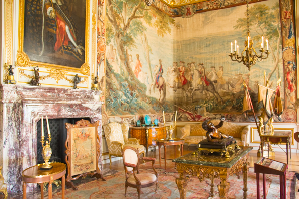 The Second State Room at Blenheim Palace, Woodstock near Oxford