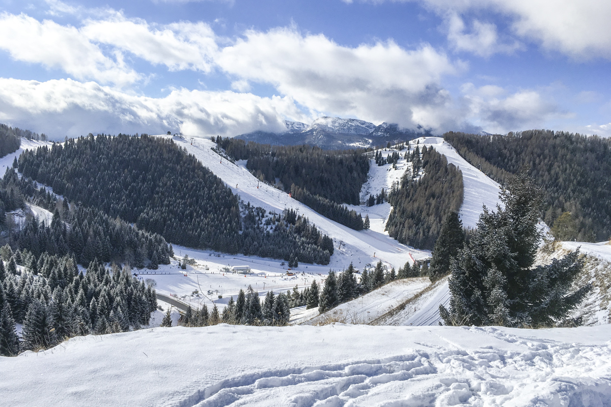 The SKi Area Above Folgaria in Trentino, Northern Italy  0007